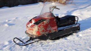 Максималка снегохода БУРАН 640 2т.