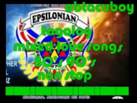 TAGALOG LOVE SONG's 80's & 90's (abtacuboy)
