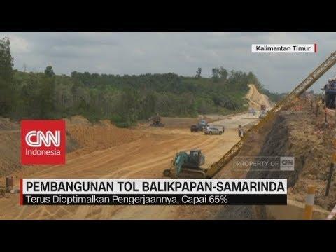 Pembangunan Tol Balikpapan-Samarinda Terus Dikebut Pengerjaannya