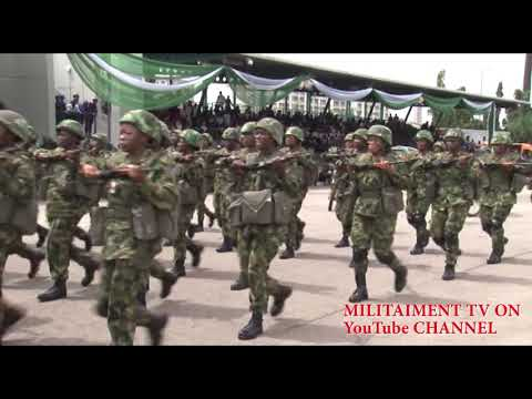 Look At This Beautiful Nigerian Army Women In Combat Dress; Really Amazing