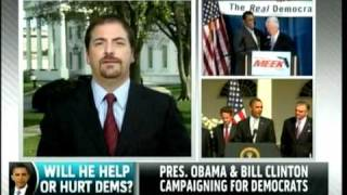 Why Clinton Is Stumping Over Obama: MSNBC w/ Cenk