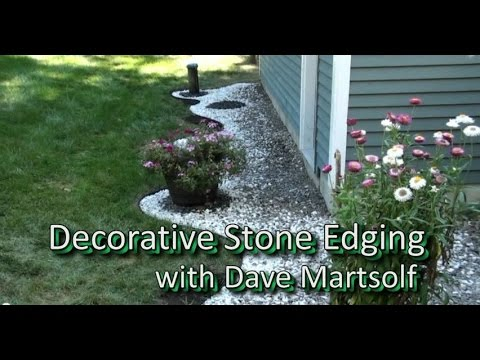 Decorative Stone Edging Project - YT