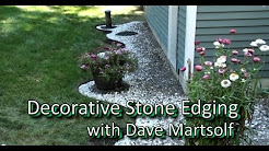Decorative Stone Edging Project
