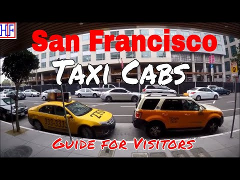 San Francisco - Taxi Cabs Guide - Getting Around (TRAVEL