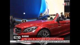 Le 86e salon de l'automobile se poursuit à Genève