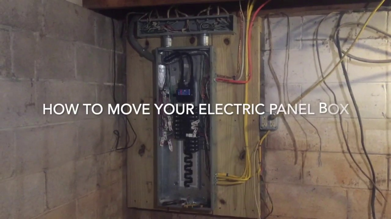 Moving An Electrical Panel Box After It Caught Fire Youtube