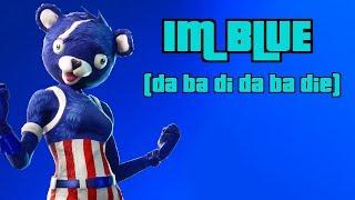 I'm Blue | Fortnite music video! |