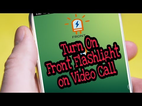How To Enable Front Flashlight On Video Call