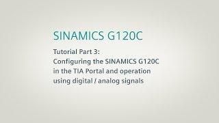 SINAMICS G120C, Tutorial Part 3 thumbnail