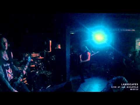 Landscapes - No Love (live at AJZ Bielefeld 06/07/13)