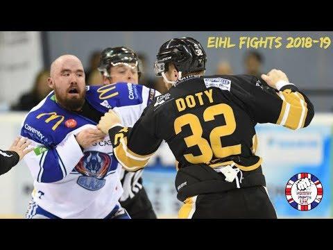 EIHL Fights 2018-19