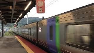 JR北海道新函館北斗駅に入線するキハ281系スーパー北斗。