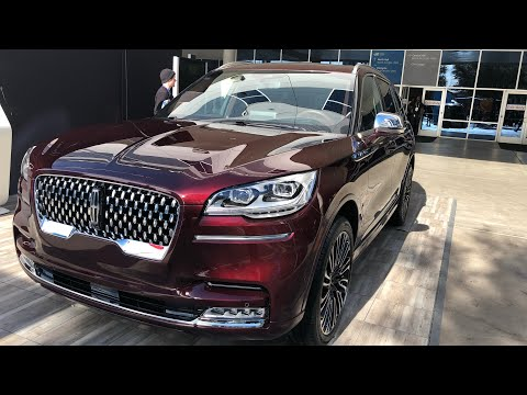 The Lincoln Aviator At CES 2019 Las Vegas