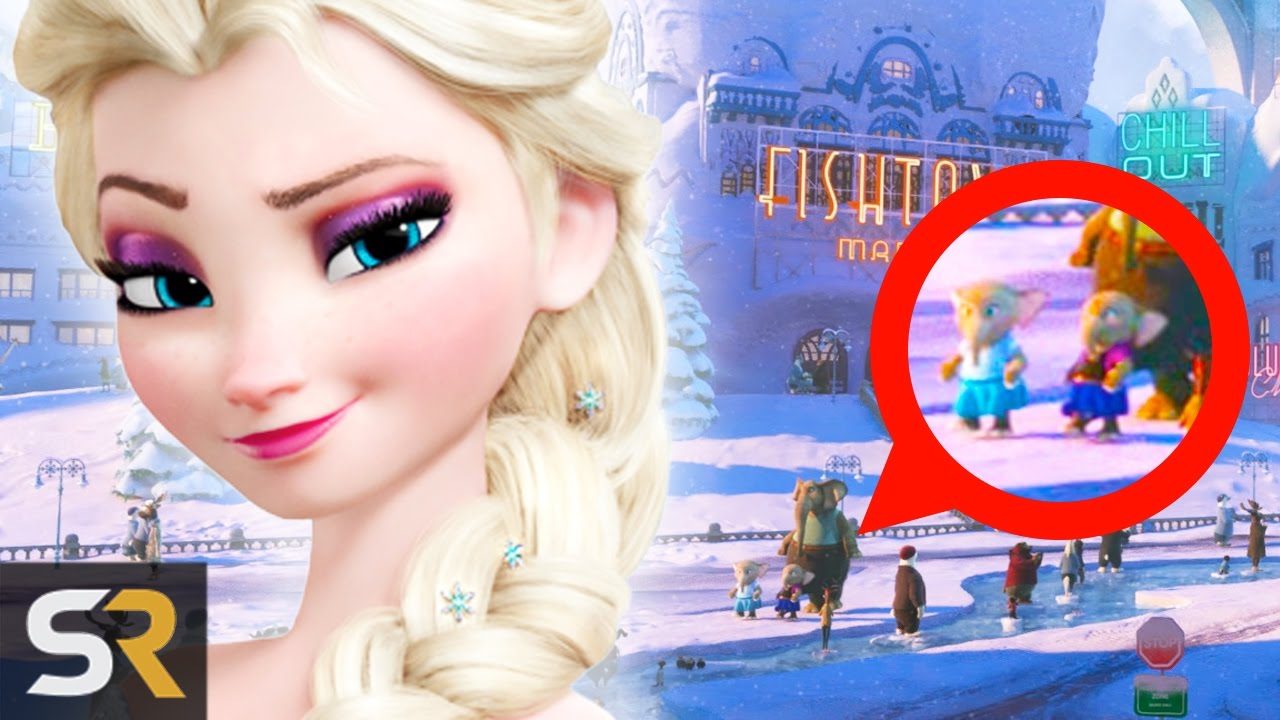 10 Disney Movie Easter Eggs And Connections You Missed Youtube