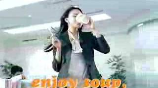 Nissin Vegetable soup noodle Japanese TVCM 2.
