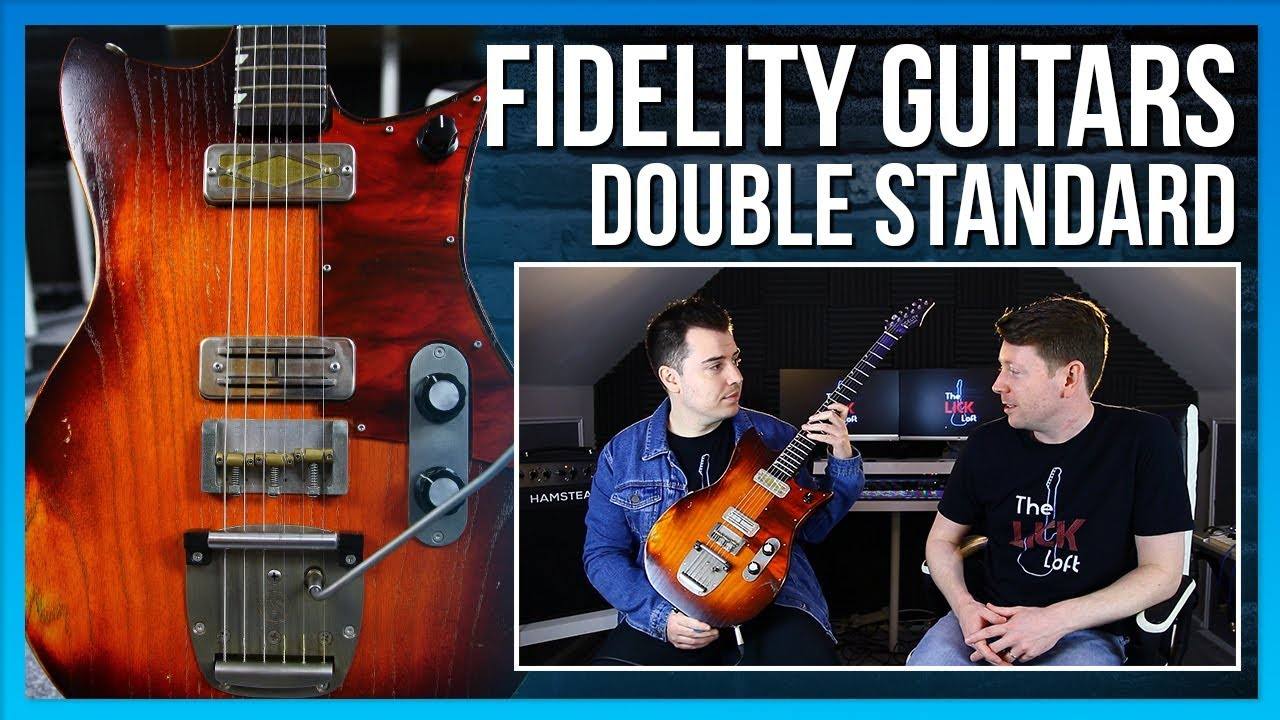 Fidelity Guitars Double Standard | New Guitar Day!