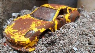 Restoration Abandoned Porsche Car - Super Model Porsche 911 Restore