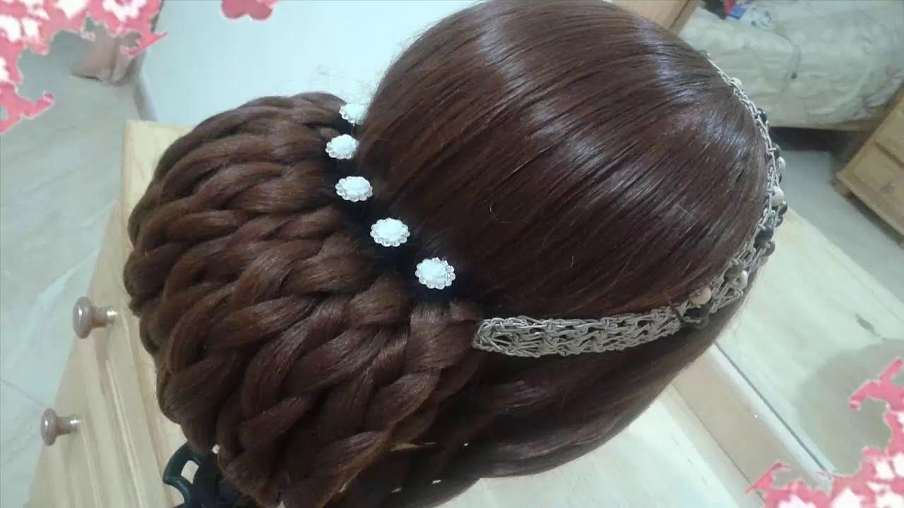 Peinados Recogidos Faciles Para Cabello Largo Bonitos Y Rapidos Con Trenzas Para Niña Para Fiestas