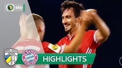Carl Zeiss Jena - FC Bayern München 0:5 | Highlights DFB-Pokal 2016/17 - 1. Runde