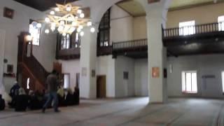 Свадьба в мечети Ханского дворца в Бахчисарае. Внутри мечети. Никах.
