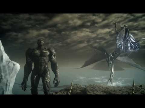 Final Fantasy XV: Comrades - BAHAMUT BOSS FIGHT & Noctis Awakes! (Comrades Multiplayer Story Ending)