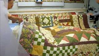 Gammill Longarm Quilting Demonstration
