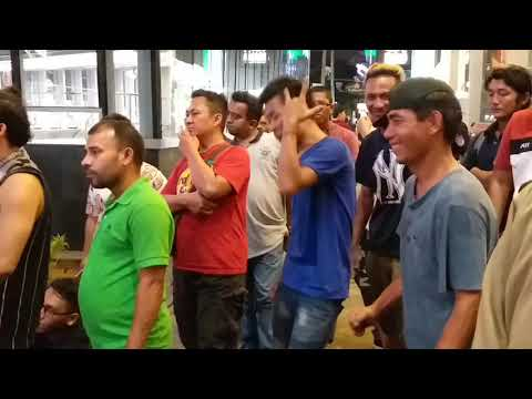 #senimanjalanan Goyang nasi padang - cha wiza feat Retmelo