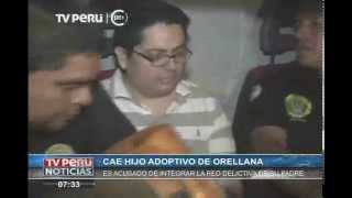 Policía captura a hijo adoptivo de Rodolfo Orellana en San Borja