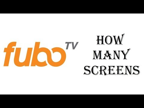 FuboTV  How Many Screens Will I Get  How Many Devices Can I use at Once?