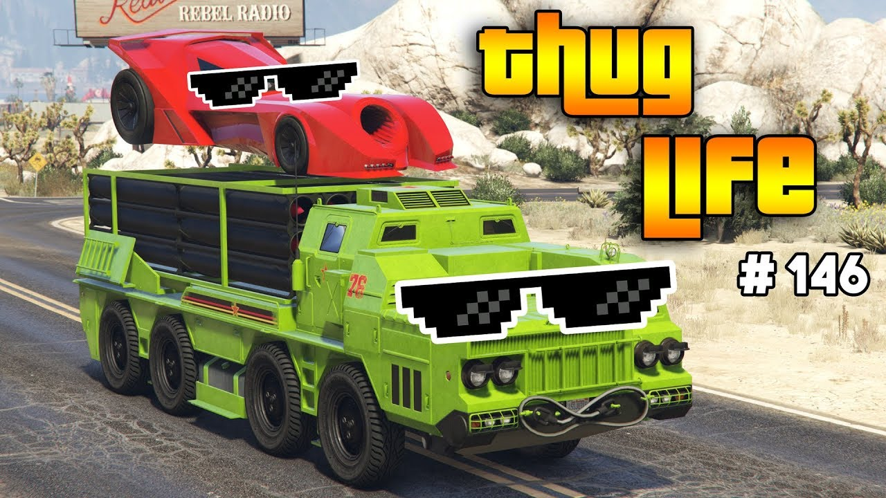 GTA 5 THUG LIFE AND FUNNY MOMENTS (WINS, STUNTS AND FAILS #146)