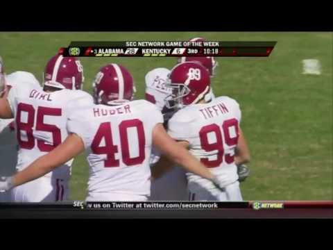 2009 #3 Alabama vs. Kentucky Highlights