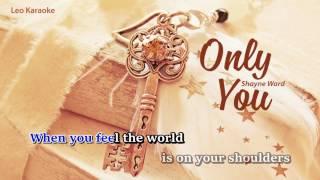 [Karaoke] Until You - Shayne Ward [Beat chuẩn, có bè]