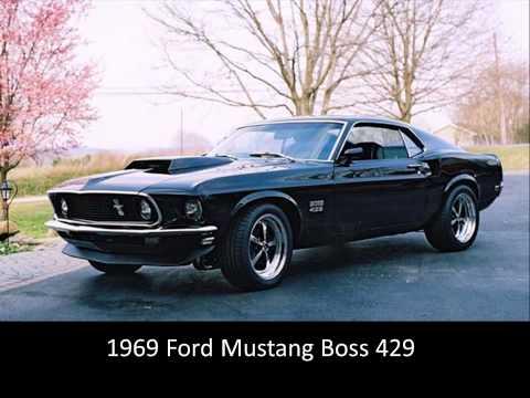 Top Ten Classic Muscle Cars
