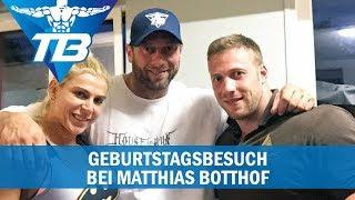 Geburtstagsbesuch bei Matthias Botthof inkl. Brusttraining