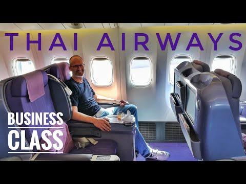 FLIGHT REVIEW – THAI Airways – BUSINESS CLASS – Phuket to Bangkok
