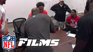 James Harrison: Arm-Wrestling Champion | Hard Knocks: 2013 Bengals