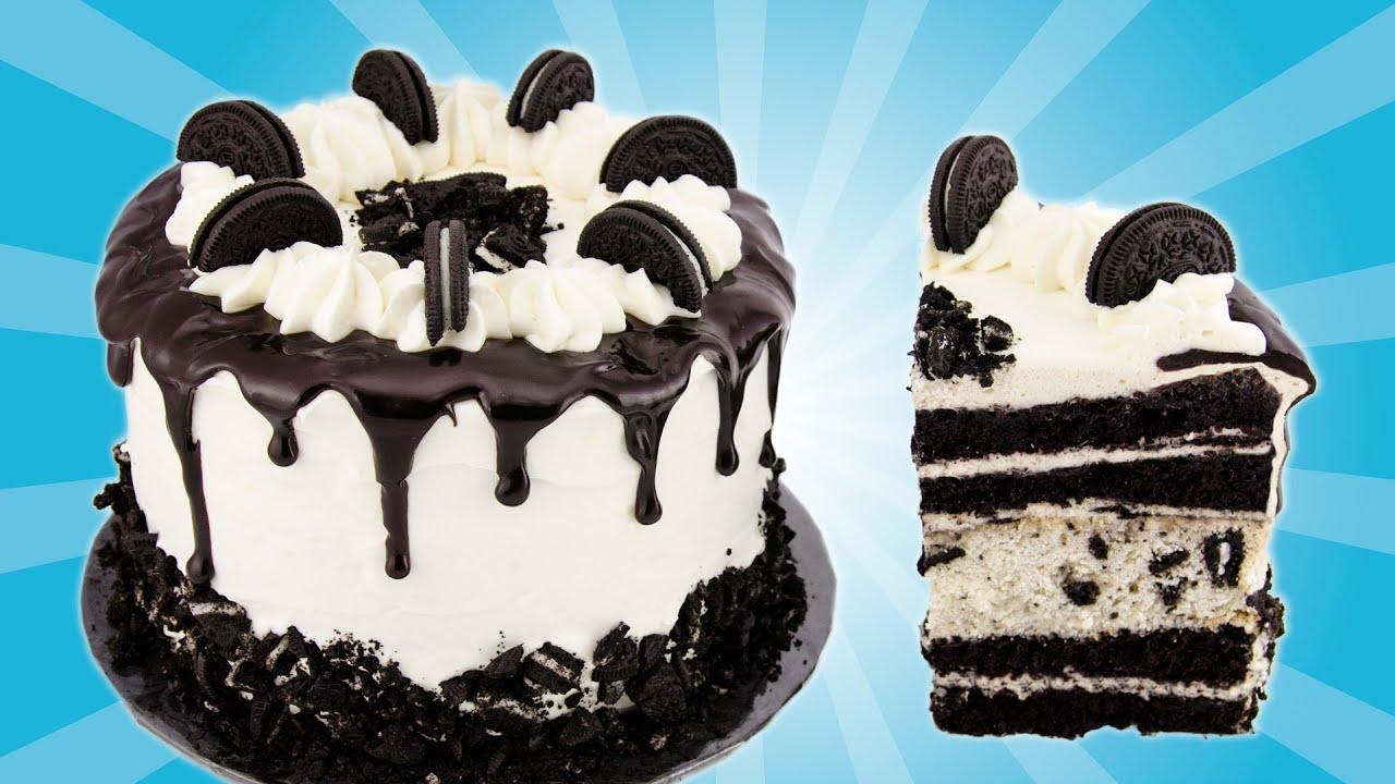 Oreo Cake Recipe From Cookies Cupcakes And Cardio Youtube