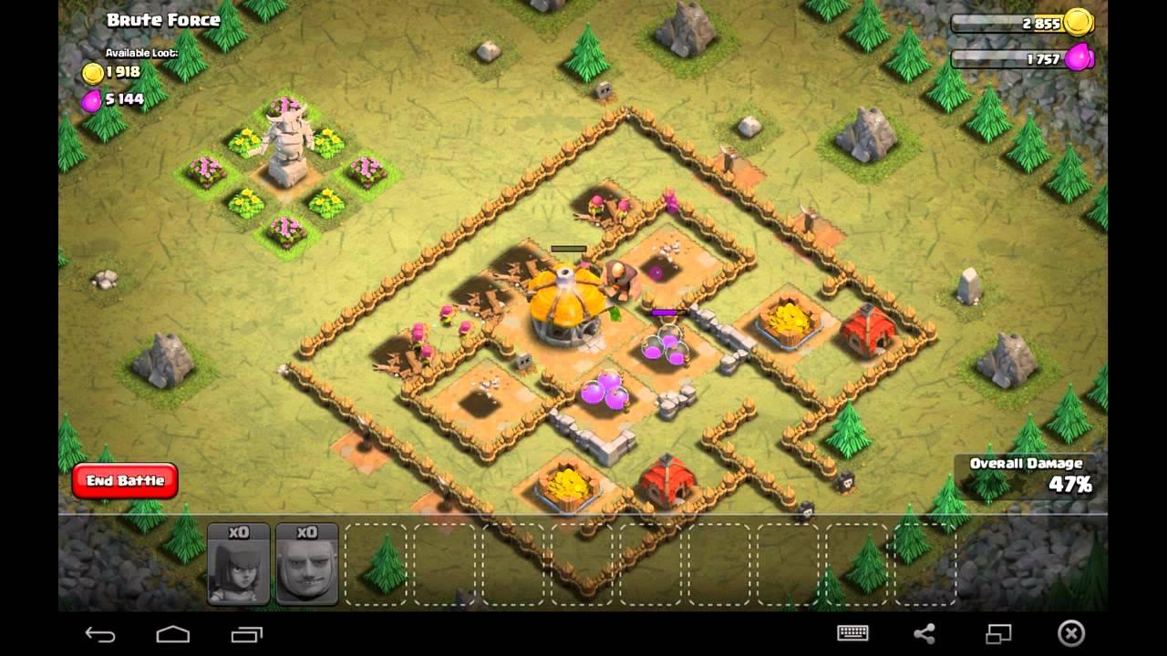 simple clash of clans