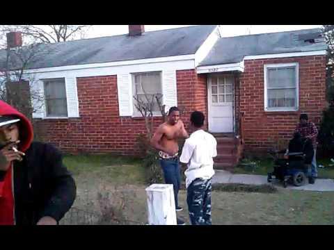 Hood fight