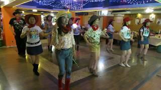 Cowboy Cumbia Line Dance