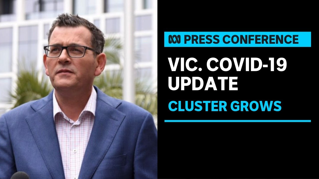 Premier Daniel Andrews announces five-day lockdown for Victoria as cluster grows | ABC News