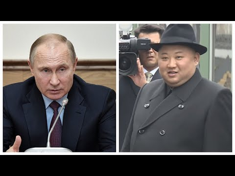 Putin holds press conference following first meeting with Kim
