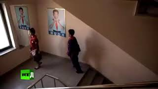Ким Чен Ын посетил школу. Историческое событие..