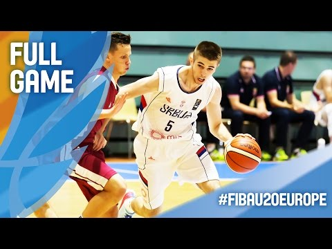 Serbia v Latvia - Full Game - FIBA U20 European Championship 2016