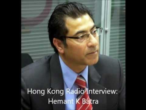 HK Radio interview Hemant Batra