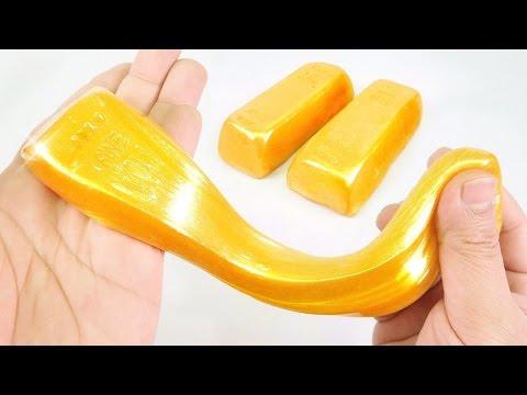 How to make GOLD BULLION BAR SLIME + SILVER SLIME