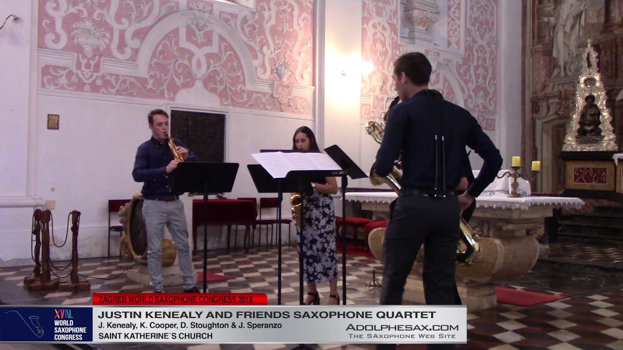 Fugue in G Minor by J S  Bach  - Justin Kenealy & Friends