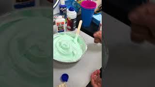 Handshake Teacher's Class Making Slime!!
