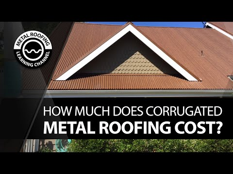 How Much Does Corrugated Metal Roofing Cost? Detailed Description Of Installation And Materials Cost