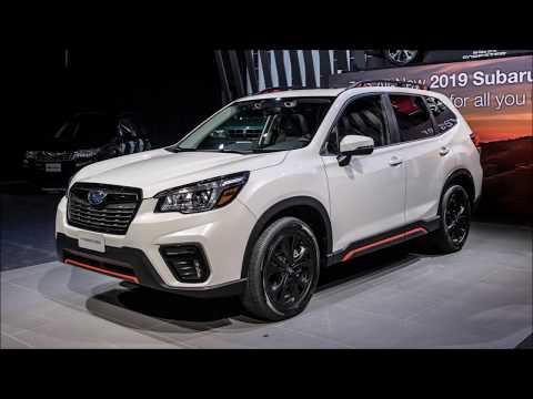 Subaru Forester Sport: New York 2018 Slideshow